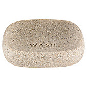 Tesco Stone Effect Word Soap Dish