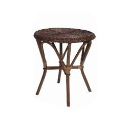 Wicker Valley Rattan Table in Brown