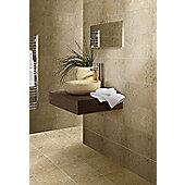 Cappucino Dark Beige Wall and Floor Ceramic Tile 300x500mm Box of 8 (1.19 M² / Box)
