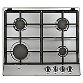 Whirlpool AKR311/IX 60cm Gas Hob in Stainless Steel