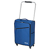 Z Frame 4-Wheel Super-Lightweight Suitcase, Blue Medium