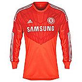 2014-15 Chelsea Adidas Home Goalkeeper Shirt - Red