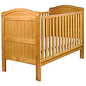 East Coast Country Cot Bed, Natural