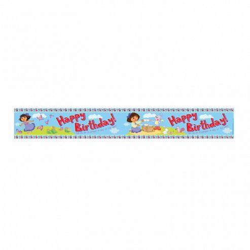 Dora The Explorer - Foil Banner 4.5 Metres - Amscan