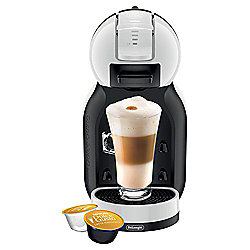 NESCAFE Dolce Gusto Multi Beverage Coffee Machine by De'Longhi, Black and White