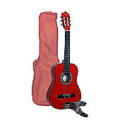 Martin Smith 1/2 Size (34inch) Guitar - Red