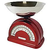Salter Vintage Scale Red