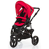 ABC Design Cobra Pushchair - Black & Cranberry
