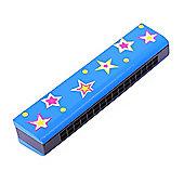 Bigjigs Toys Snazzy Harmonica (Blue)