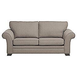 Aldeborough 3 Seater Fabric Sofa, Mocha