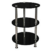 ValuFurniture Abbey 3 Tier Lamp Table