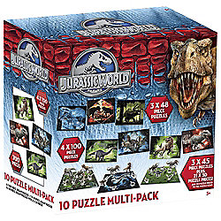 Jurassic World Puzzle Pack