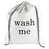 Tesco Cotton Wash Me Laundry Bag