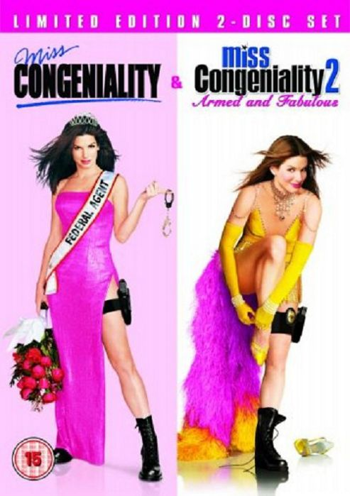 Miss Congeniality & Miss Congeniality 2 - Armed And Fabulous (DVD Boxset)