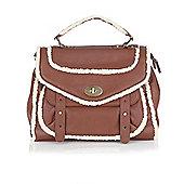 Lotus Irwin Faux Leather Satchel Bag