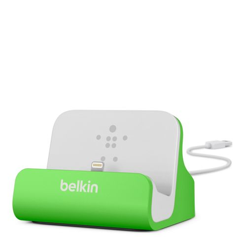 Belkin MixIt Range Lightning Charge and Sync Dock for iPhone 5 in Green