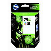Hewlett-Packard No.78XL Large Tri-Colour Inkjet Print Cartridge