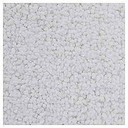 Tesco Standard Drylon Pedastal Mat White