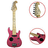 Jasmin 1/2 Size KIds Electric Guitar with Amp Pink