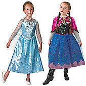 Luxury Frozen Gift Set - Child Costume 5-6 years