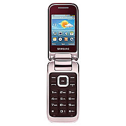 Tesco Mobile Samsung C3590 Red