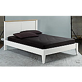 "Home Zone Chicago Bed Frame - Double (4' 6"")"