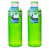 Sistema Trio Drink Bottles 700ml, Green x 2