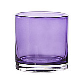 Pied A Terre Purple Lustre Tealight Holder