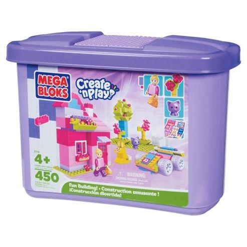 Mega Bloks Giant Brick Tub Pink