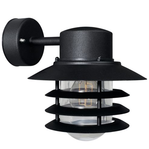 Buy Nordlux Vejers Down Wall Light - Galvanized Steel / Black from our Outdoor Lanterns range ...
