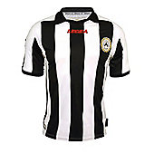2012-13 Udinese Legea Home Football Shirt - White
