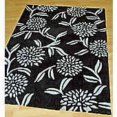 Origin Red Gem Black Rug - 150cm x 80cm