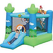 Koala's Slide and Hoop Bouncy Castle
