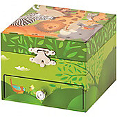 Zoo Musical Jewellery Box