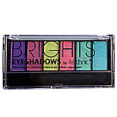 Technic Brights 6 Colour Eyeshadow Palette