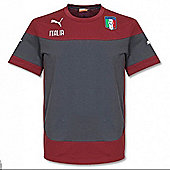 2014-15 Italy Puma Leisure T-Shirt (Red) - Kids - Red