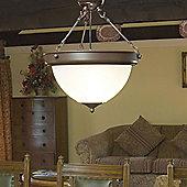 Kansa Lighting Traditional Prismatics Hanging Ceiling Mount - Medium
