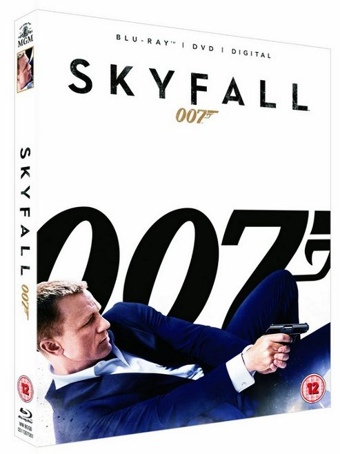 Skyfall - James Bond 007 Blu-Ray + DVD + Digital