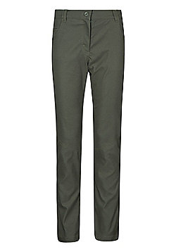 Mountain Warehouse Stretch Womens Cargo Trousers - Green