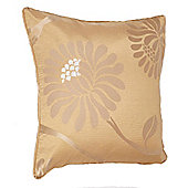 Leanne Gold Self Piped Cushion Cover 17x17 Inches