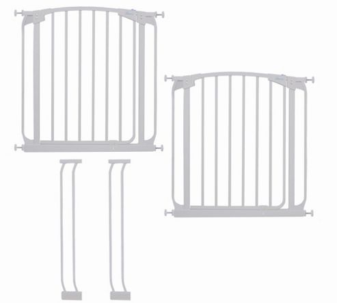 Dream Baby Swing Close Security Gate Value Pack - White