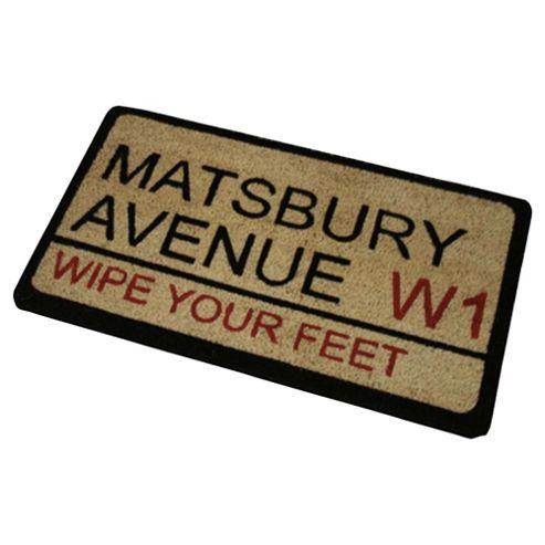 Matsbury Avenue Outdoor PVC Coir Mat