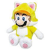 """Official Nintendo Super Mario Plush Series Stuffed Toy - 9"""" Cat Mario"""