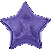 Purple Dazzler Star Balloon - 19' Foil (each)