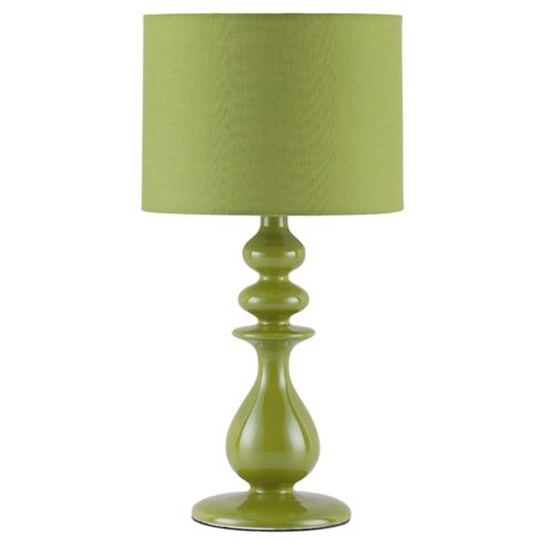 Tesco Lighting Juliette Ceramic Table Lamp Lime