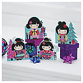 TESCO CHINA GIRL CARDS 20PK