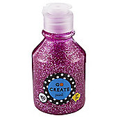 Go Create Ready Mixed Glitter Paint 150ml - Pink