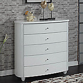 Birlea Aztec Chest - White