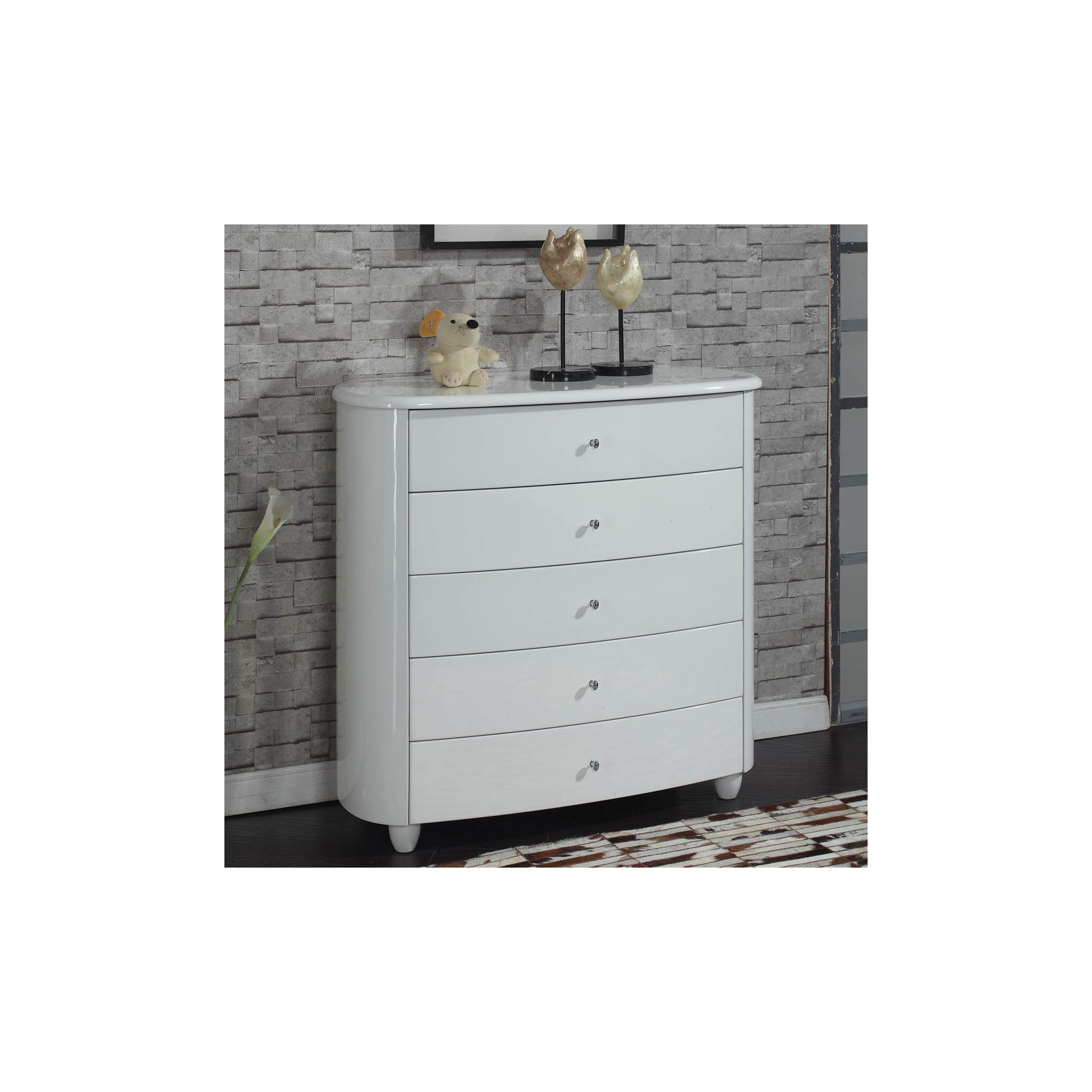 Birlea Aztec Chest - White at Tesco Direct