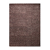 Esprit Spacedyed Brown Tufted Rug - 90 cm x 160 cm (2 ft 11 in x 5 ft 3 in)